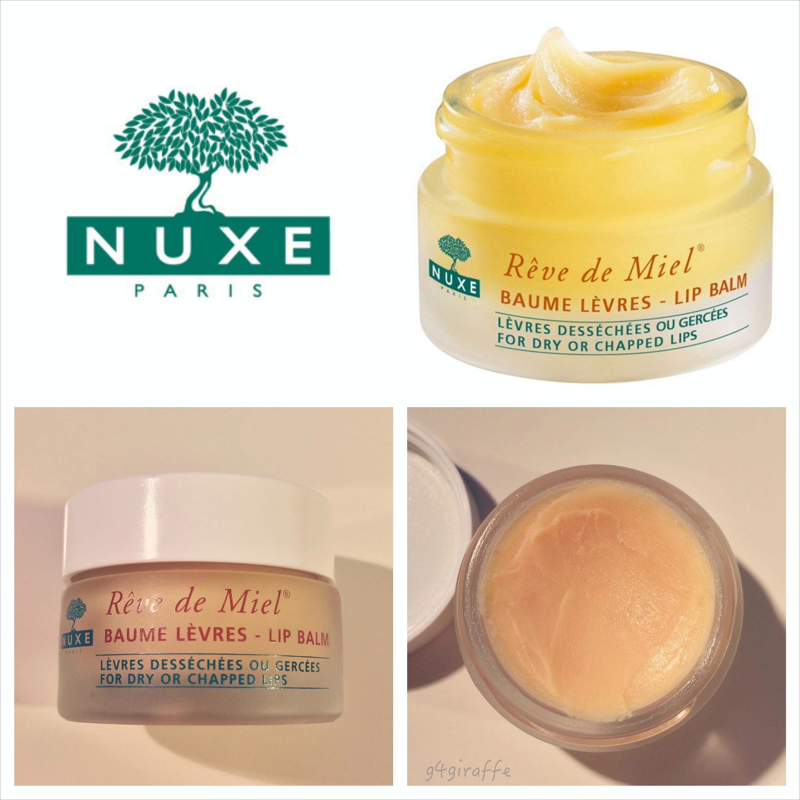 Kết quả hình ảnh cho Hũ dưỡng môi Nuxe Baume Lèvres