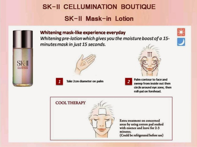 1 SK-II Mask In Lotion