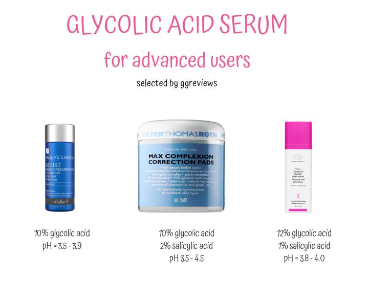 #127 Glycolic Acid – Kiến thức tổng hợp & 9 sản phẩm gợiý